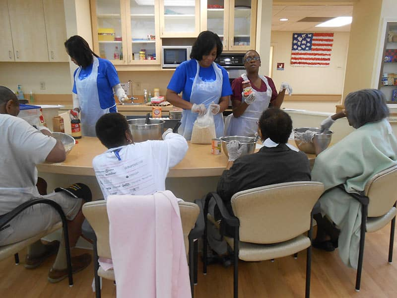 Alzheimer's Day Services of Memphis » Medtronic-2014-cooking